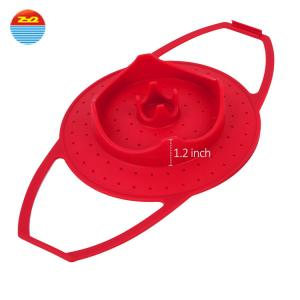 China high quality vegetable kitchen silicone steamer walmart for sale on sale