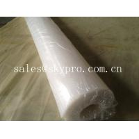 FDA approved food grade rubber sheet roll support white / beige color.