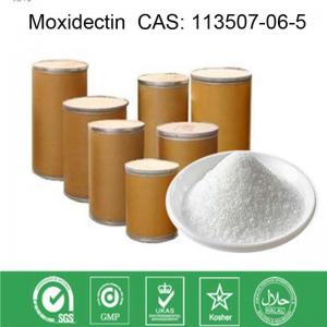 China Veterinary Local Anaesthesia Drugs Parasiticide Moxidectin CAS 113507-06-5 White Powder on sale