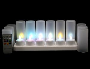 China remote control Flameness Candle Tealight on sale