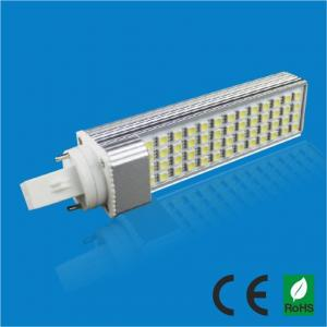 China 13watt 2 pins G24 LED bulb with AL + PC material , 188mm*35mm*35mm on sale
