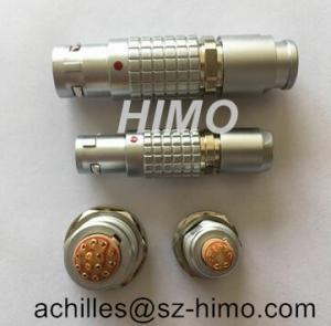 Quality China factory verified supplier shell size M12 B series 6 pin lemo cable with for sale