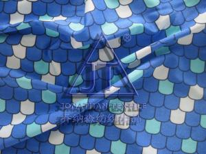 China colorful fish scale nylon spandex knitted fabric for swimwear ! 82/18 shiny nylon spandex for mermaid swimwear ! on sale