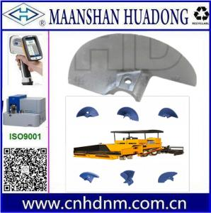 China asphalt paver machine auger blade parts on sale