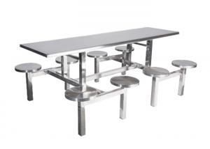 China Table And Chair Stainless Steel Building Products 720-760mm Height Customized Size on sale