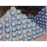 Hot Rolling Grinding Media CR15 Steel Balls For Ore Grinding Hardness More than HRC60.