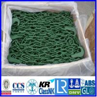 Container lashing Chain, Red painted lashing chain container securing lashing chain
