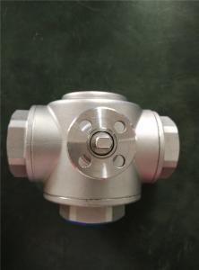 China HVAC Use 2 Way And 3 Way Female Gas Ball Valve , Mini Brass Ball Valve on sale
