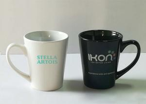 China Custom Sublimation Promotional Coffee Cups LOGO Printing With Spoon on sale