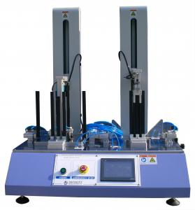 China Blue 2-Station Drop Weight Tester For Desktop , 5 ~ 25 Cycles / Min on sale