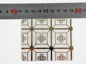 China Building Material Etched 0.3mm 201 Stainless Steel Sheet on sale