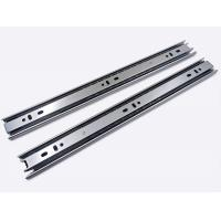 China Cold Rolled Steel Full Extension Ball Bearing Drawer Channel Drawer Slide 35mm 0.8*0.8*0.8 on sale