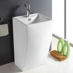 China Bathroom Sanitary Ware Ceramic Standing Round Pedestal Basin/Pedestal Sinks Item No.705 on sale