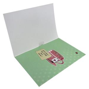 China Voice Recordable Greeting Cards Christmas Art Paper Musical Gift Cards on sale
