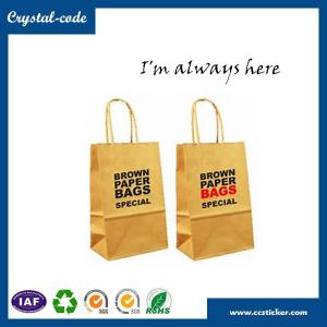 China High quality flat bottom kraft paper bag,kraft paper shopping bag,bag kraft paper on sale