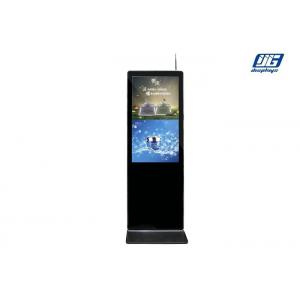 China Floor Standing LCD Advertising Display 1080x1920 Resolution 90W 43 AUO Panel on sale