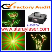 800mw RGY animation laser light
