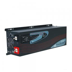 China 4000W 24V dc to 220V ac 50hz pure sine wave home power inverter with charger on sale