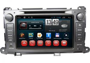 China Toyota GPS Navigation Sienna DVD Wifi 3G Bluetooth SWC TV Camera Input on sale