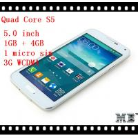Generic Zallars S5 Quad Core 3G WCDMA 5.0 Inch Android Smart Mobile Phone