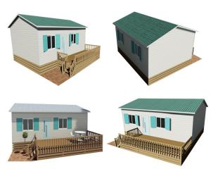 China Philippines Movable Prefab House , Steel Frame Prefabricated Houses CE Certification on sale