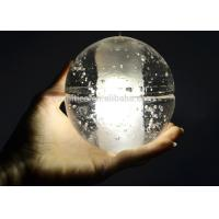 China Transparent Crystal  Chandelier Lights Glass Ball Led Pendant Lighting on sale