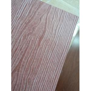 China Decorative Waterproof Wood Fiber Cement Panel , Fiber Cement Board Siding on sale