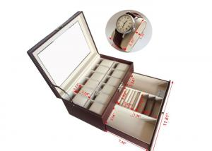 Handmade Mens Watch Jewelry Box Brown12 Slots Wooden Watch Storage Case For Sale Watch Storage Box Manufacturer From China 108281585
