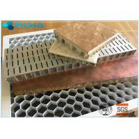 China Durable Flame Resistant Honeycomb Material Aluminum For Heater Lattice Grid on sale