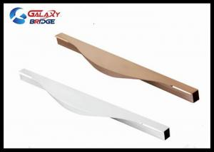 ... Quality Kitchen Hidden Aluminum Cabinet Handles / 700MM White Invisible  Milling Door For Sale ...
