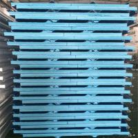 China 50mm painted steel corrugated XPS pu sandwich panels for steel structure roof on sale