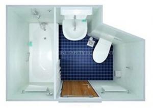 China Marine/ship Sanitary/wet Unit with Bathtub/bathroom/shower toilet boat on sale