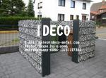 656 Double Wire Welded Gabion Fences, Gabion Box Baskets Retaining Walls, Garden Landscaping Wire Mesh Stone Cages
