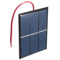 DIY Solar Lawn Lights Epoxy Resin Solar Panel With Small Solar Water Pump