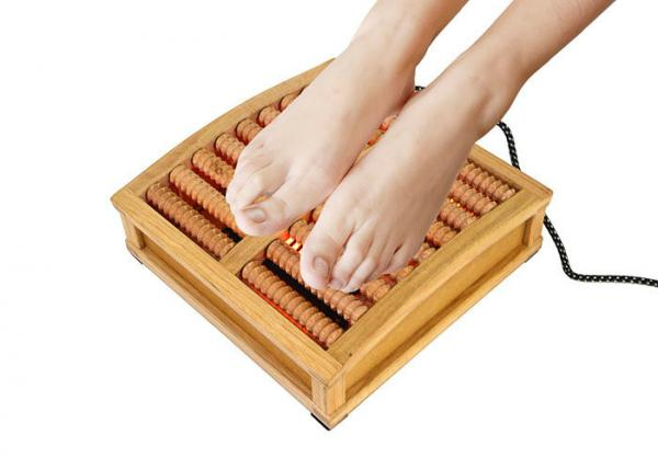 Patient Care Product Wooden Foot Massager For Diabetes Foot
