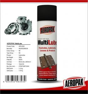 China AEROPAK High Quality All purpose MultiLube&Anti rust lubricant for Car Care on sale