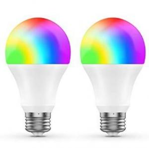China E27 B22 LED Color Changing Light Bulb Wifi Led Lamp Voice Control ETL Certificate on sale