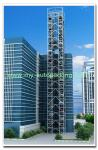 8-30 Floors  3D Stack Parking Equipment Automatic Smart Card Tower Parking System
