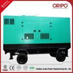 Silent Portable Diesel Generator with Cummins Engine