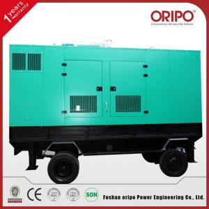 China Silent Portable Diesel Generator with Cummins Engine on sale