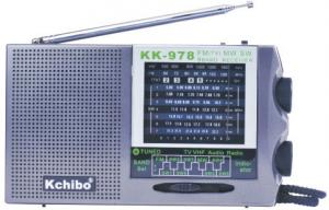 China KCHIBO ANALONG RADIO KK-978 FM(TV)/MW/SW1-7(TV2-5CH) 9 BAND RECEIVER RADIO on sale