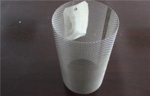 China Custom Precision Aluminum Wire Mesh Tubing / Plate With 3mm Hole Diameter on sale