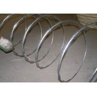 Military Field  Hot Dipped Galvanized Iron Wire , High Tensile Double Twist Barbed Wire