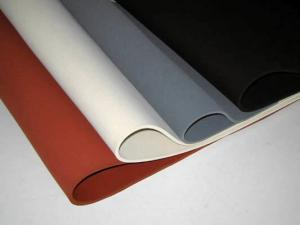China Food Grade Thin Silicone Insulation Sheet for medical or food industry, any color and size can be customized supplier