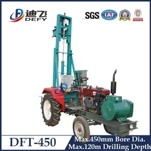 China 120m Drilling Depth DFT-450 Tractor Mounted Water Boring Machines for Sale on sale