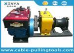 Extrator do guincho do cabo da carga pesada 80KN para a linha aérea transmissão