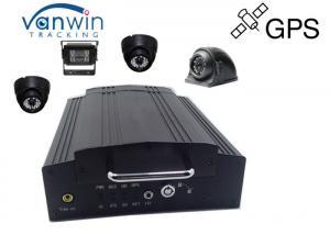 China 4ch Hard disk car camera dvr video recorder GPS for cctv camera system on sale