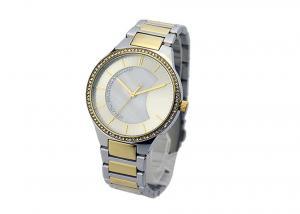 China PVD Plating Waterproof Female Watches , Quartz Waterproof Dress Watch on sale