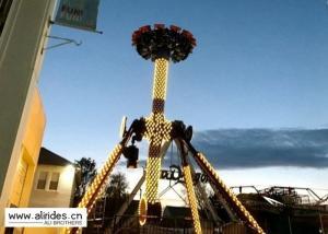 China Upper Transmission Spinning Pendulum Ride , 12P Pendulum Rides Amusement Parks on sale