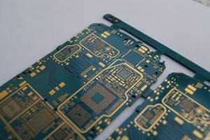 China Blue Solder Smart Phone HDI PCB Printed Circuit Board Manufacturer on sale